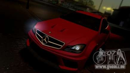 Mercedes Benz C63 AMG C204 Black Series V1.0 für GTA San Andreas
