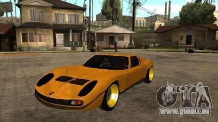Lamborghini Miura pour GTA San Andreas