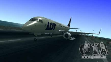 Embraer ERJ 190 LOT Polish Airlines für GTA San Andreas