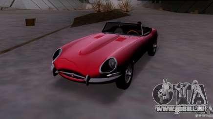 Jaguar E-Type 1966 pour GTA San Andreas