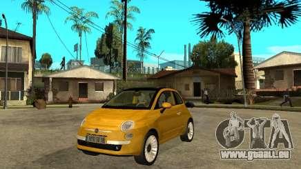 Fiat 500 C pour GTA San Andreas