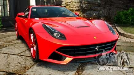 Ferrari F12 Berlinetta 2013 pour GTA 4