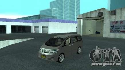 Toyota Alphard G Premium Taxi indonesia pour GTA San Andreas