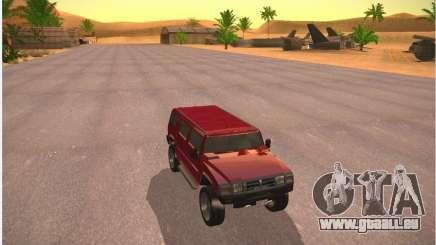 Patriot von GTA 4 für GTA San Andreas