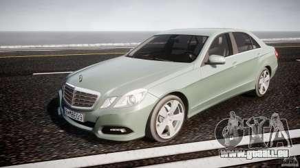 Mercedes-Benz E63 2010 AMG v.1.0 pour GTA 4