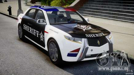 Carbon Motors E7 Concept Interceptor Sherif ELS pour GTA 4