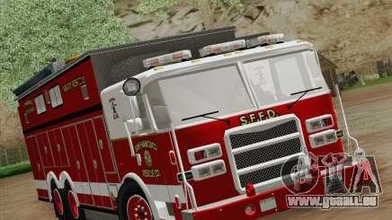 Pierce Walk-in SFFD Heavy Rescue pour GTA San Andreas