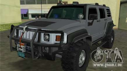 Hummer H3 SUV FBI pour GTA Vice City