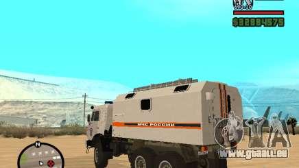 KAMAZ MOE pour GTA San Andreas