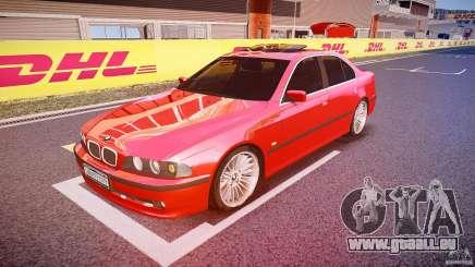 BMW 530I E39 stock chrome wheels pour GTA 4