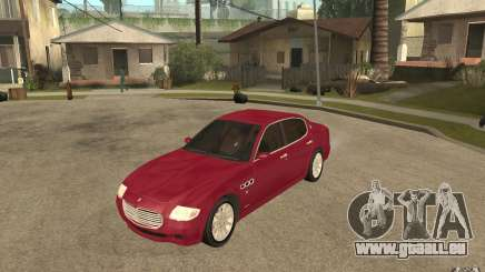 Maserati Quattroporte für GTA San Andreas