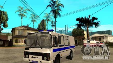 PAZ-3205-Polizei für GTA San Andreas