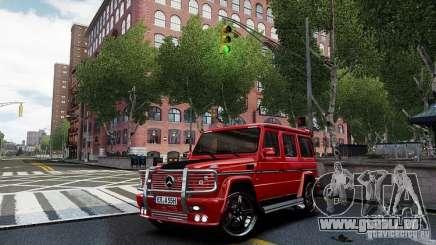 Mercedes-Benz G500 pour GTA 4