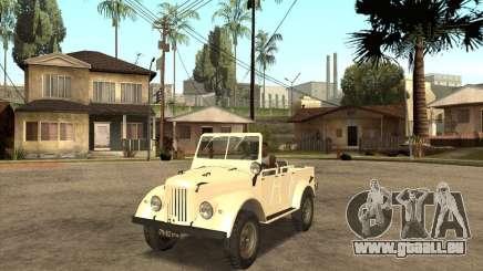 GAZ 69 A pour GTA San Andreas