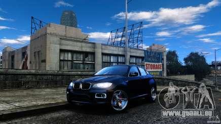 BMW X6 2013 pour GTA 4