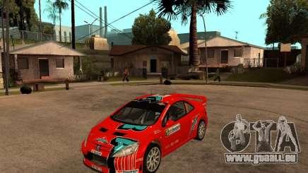 Peugeot 307 WRC für GTA San Andreas