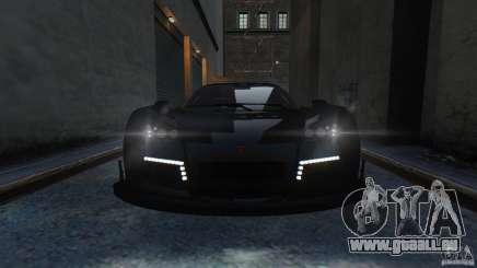 Gumpert Apollo Sport 2011 v2.0 чёрный pour GTA 4