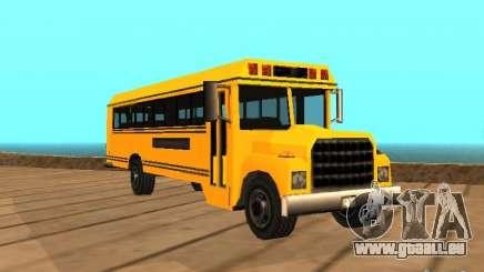 School bus pour GTA San Andreas