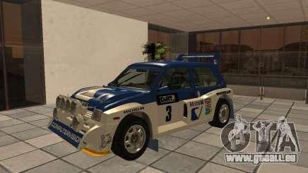MG Metro 6M4 Group B pour GTA San Andreas
