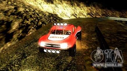 Toyota Tundra Rally für GTA San Andreas