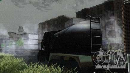 Remorque carburant blindé de Mack camion Titan pour GTA San Andreas