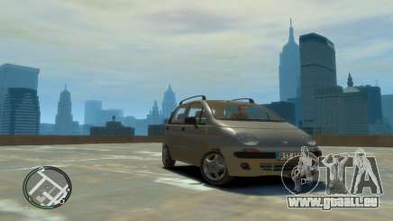Daewoo Matiz Style 2000 pour GTA 4