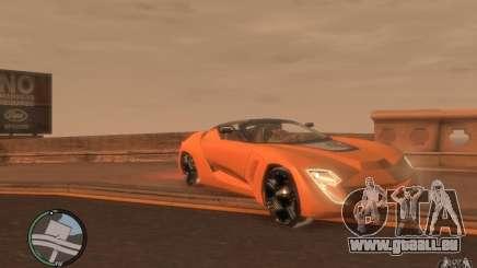 Bertone Mantide pour GTA 4