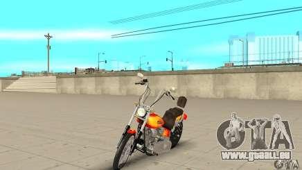 Harley Davidson softail Skin 2 für GTA San Andreas