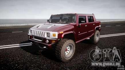 Hummer H2 4x4 OffRoad v.2.0 pour GTA 4