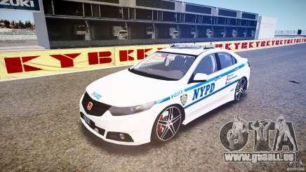 Honda Accord Type R NYPD (City Patro 1950l) ELS pour GTA 4