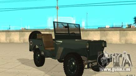Willys MB pour GTA San Andreas