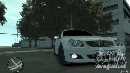 Mercedes-Benz SL 500 2006 pour GTA 4