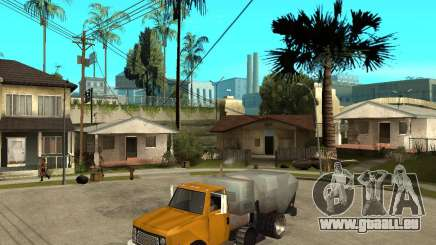 Camion de nettoyage pour GTA San Andreas