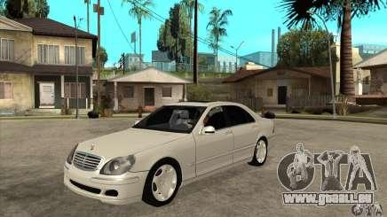 Mercedes Benz S600 für GTA San Andreas