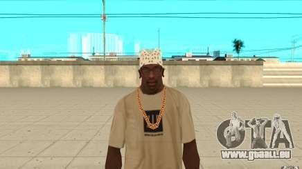 Bandana blanc pour GTA San Andreas