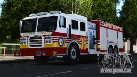 Pierce Heavy Rescue Pumper V1.4 pour GTA 4