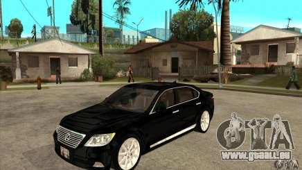 Lexus LS460L 2010 pour GTA San Andreas