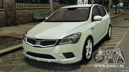 Kia Ceed 2011 pour GTA 4