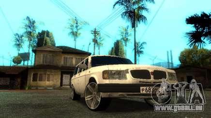 Version GAZ VOLGA 310221 TUNING pour GTA San Andreas