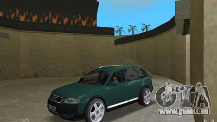 Audi Allroad Quattro pour GTA Vice City