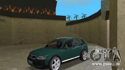 Audi Allroad Quattro pour GTA Vice City