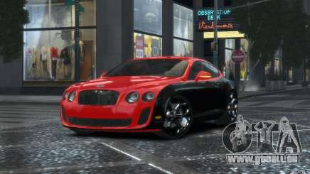 Bentley Continental SS MansorY pour GTA 4