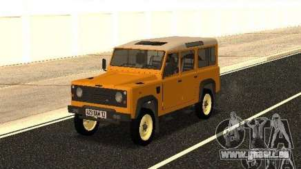 Land Rover Defender 110 pour GTA San Andreas