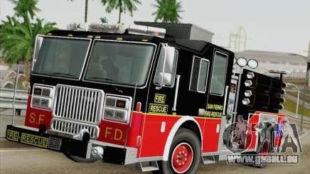 Seagrave Marauder Engine SFFD pour GTA San Andreas