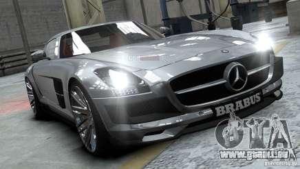 Mercedes-Benz SLS 2011 Brabus AMG Widestar pour GTA 4