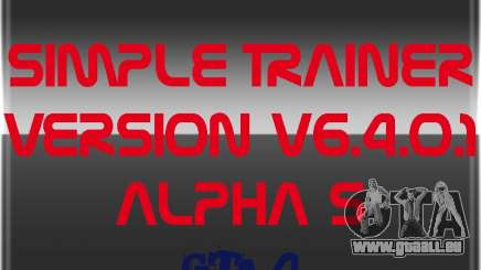 Simple Trainer Version v6.4.0.1 alpha 5 pour GTA 4