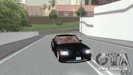 Mercedes-Benz C126 500SEC KS für GTA San Andreas