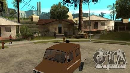 LuAZ-13021-04 pour GTA San Andreas
