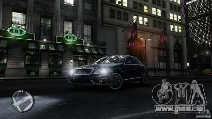 Mercedes-Benz S65 AMG pour GTA 4