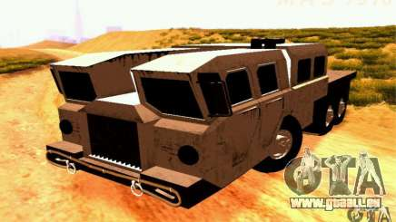 MAZ-7310 civile Version étroite pour GTA San Andreas